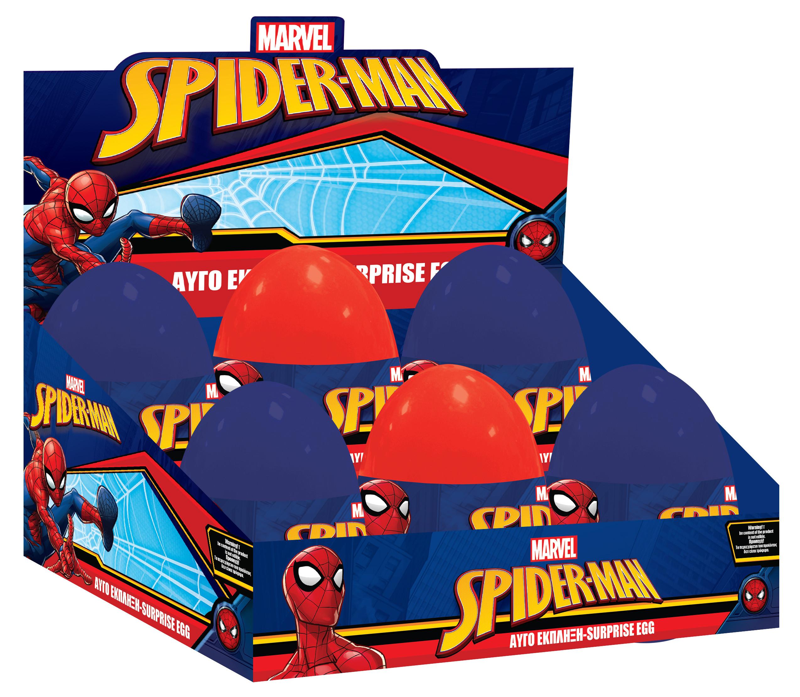 ΑΥΓΟ ΕΚΠΛΗΞΗ SPIDERMAN  2ΧΡ (000500916)