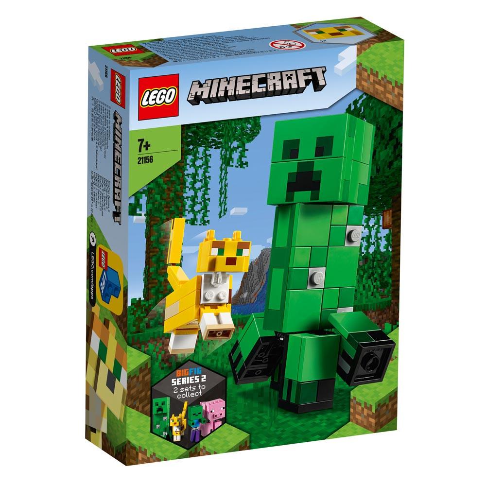 Lego Minecraft: BigFig Creeper & Ocelot
