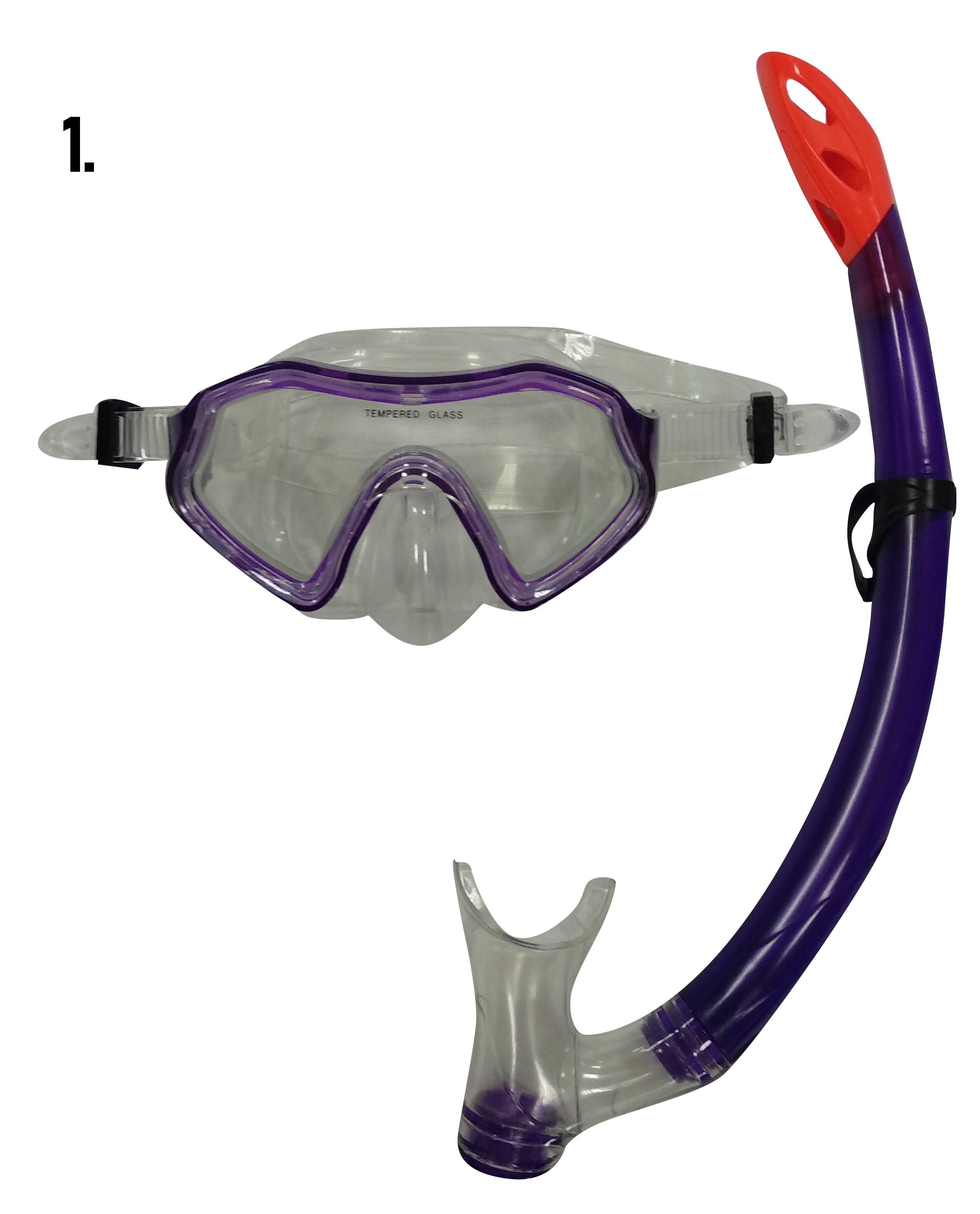 Μάσκα Θαλάσσης με Αναπνευστήρα Εφηβική 3 Χρώματα (03.MS-1701P)