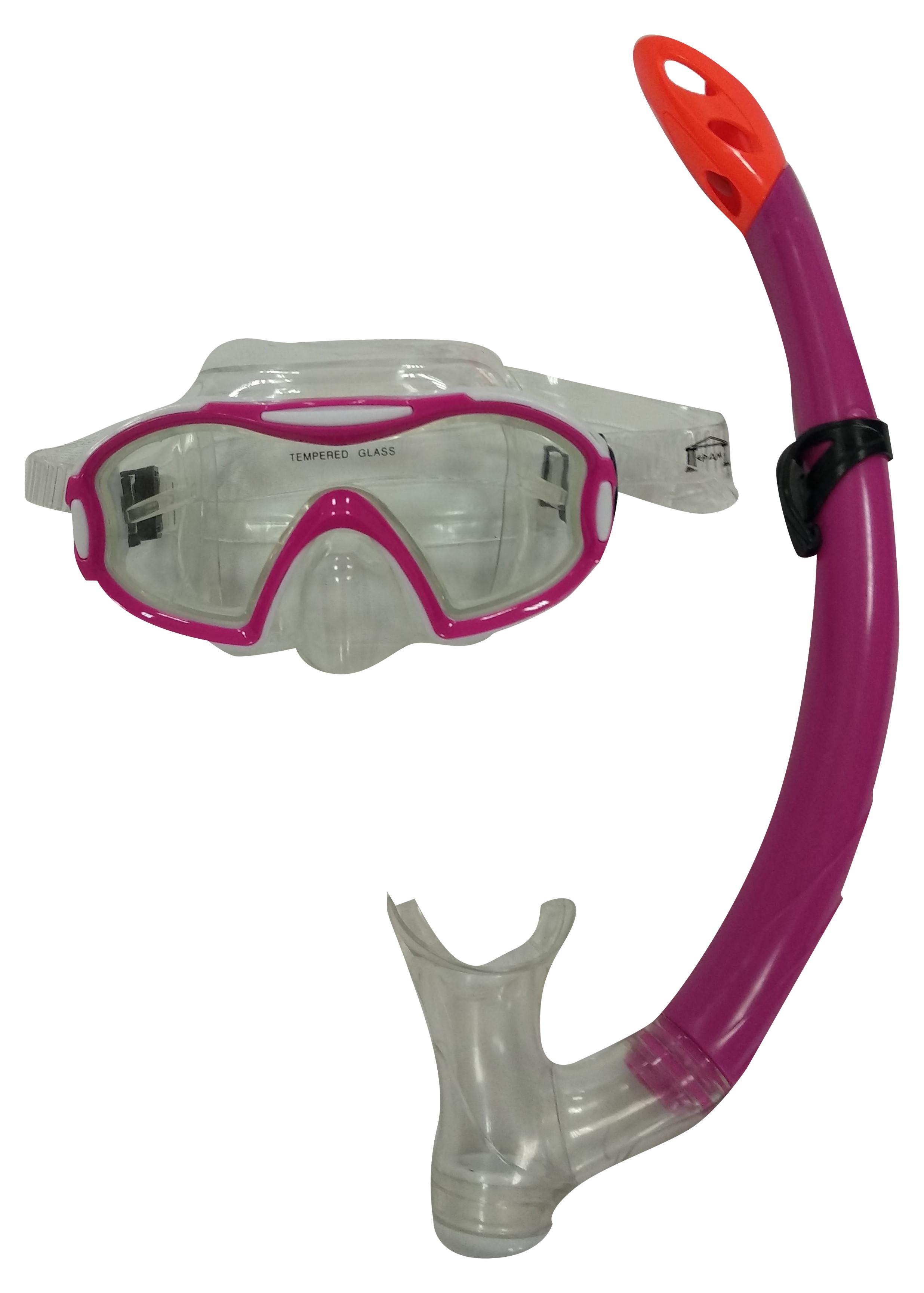 Μάσκα Θαλάσσης με Αναπνευστήρα Εφηβική (03.MS-2601P)
