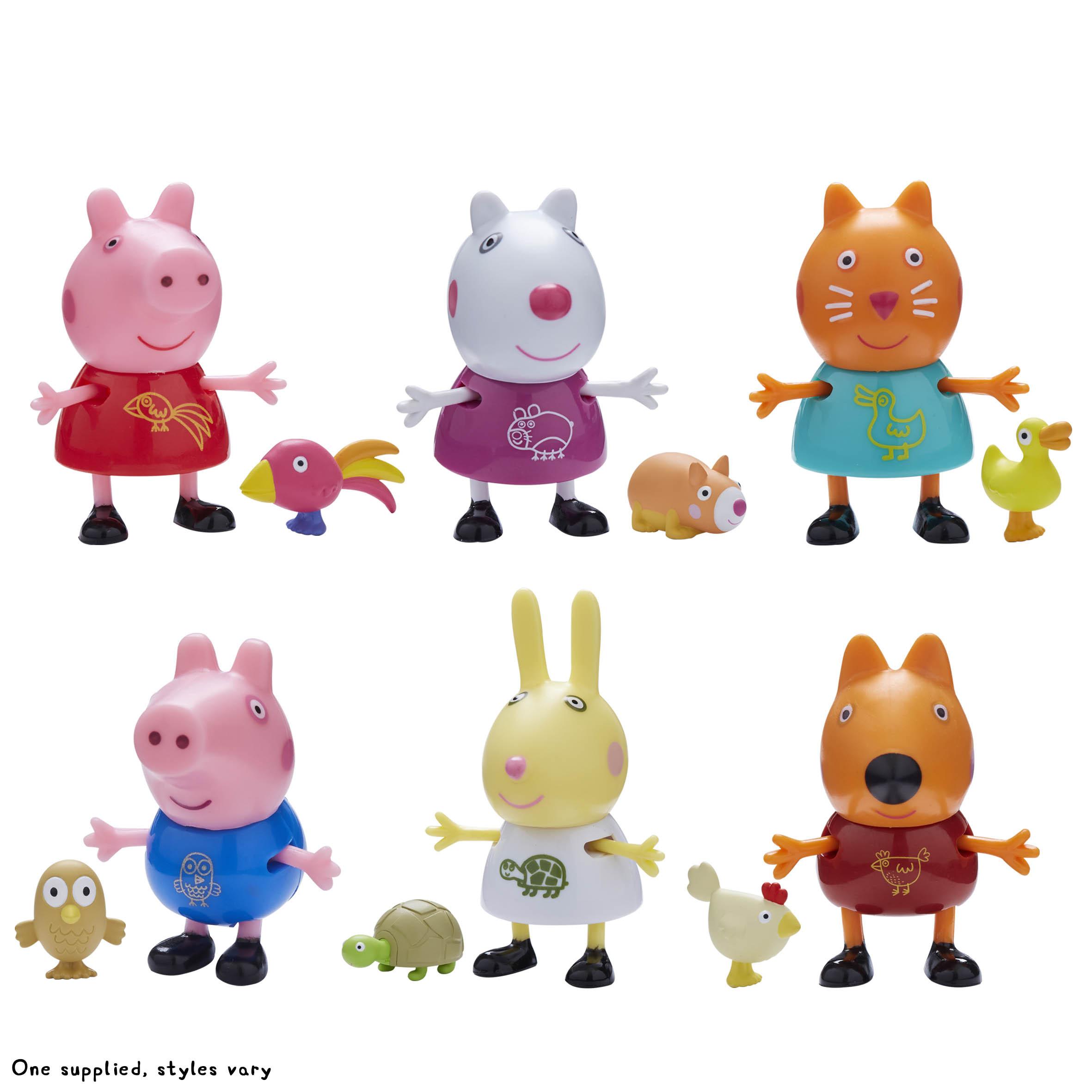 Peppa Pig Φιλαράκια & Ζωάκια Σετ 2 Φιγούρες - 6 Σχέδια (PPC44000)