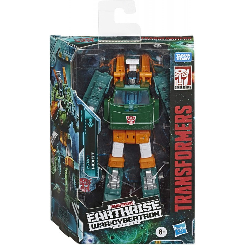 Hasbro Transformers Toys Generations War For Cybertron: Earthrise Deluxe WFC-E5 Hoist (E7120)