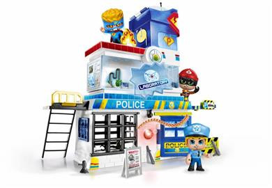 Pinypon Action - Aστυνομικό Τμήμα & 2 Φιγούρες