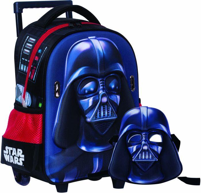 Vader Mask Σακίδιο Νηπιαγωγείου Trolley (338-17072)