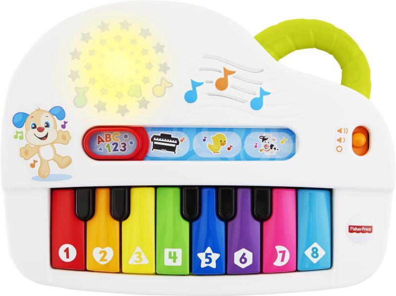 Fisher Price Laugh & Learn Εκπαιδευτικό Πιάνο Με Φώτα (GFV21)