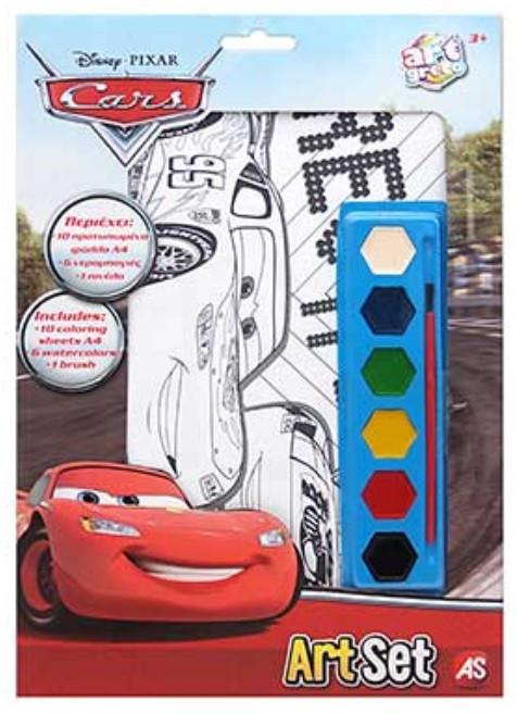 Φύλλα Ζωγραφικής Art Set Cars