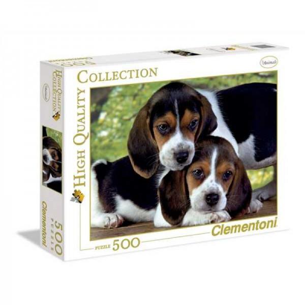 Παζλ Clementoni 500 H.Q. Σκυλακια (1220-30289)