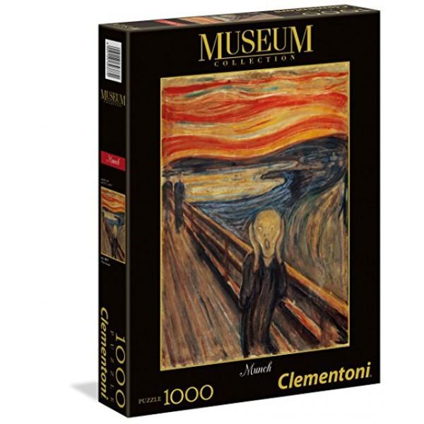 Παζλ Clementoni 1000 H.Q. Museum Munch-Η Κραυγή (1260-39377)