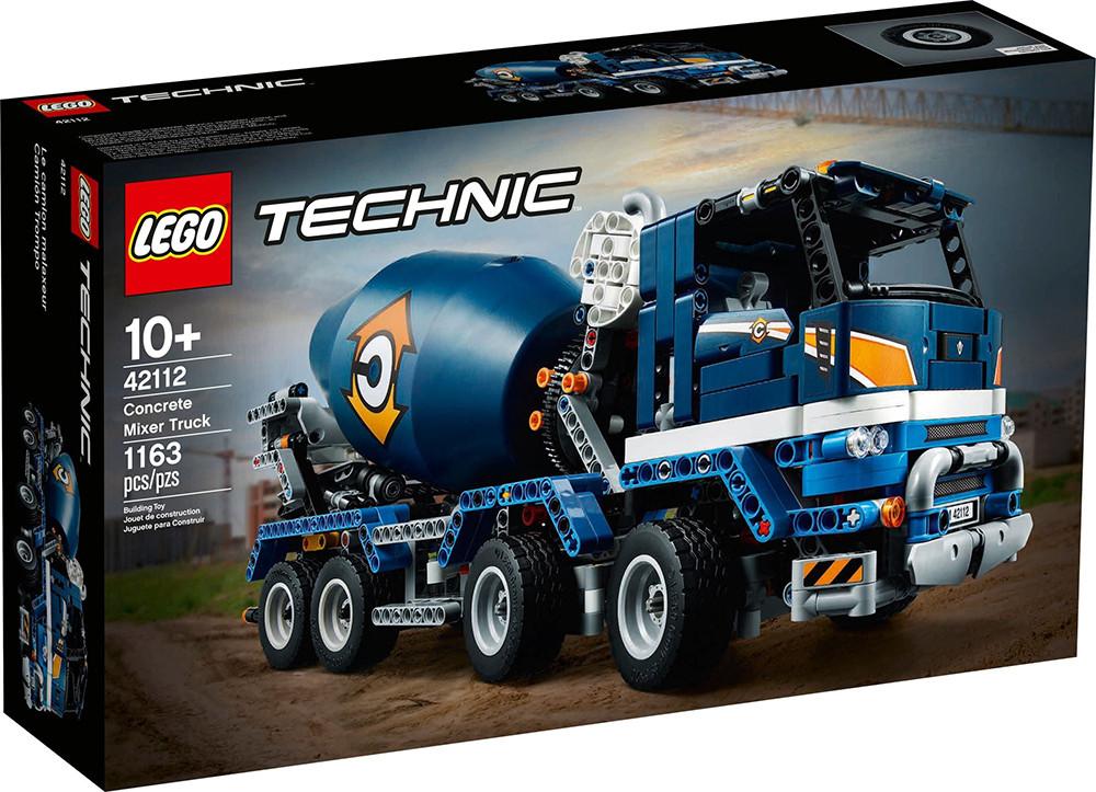 LEGO TECHNIC Concrete Mixer Truck (42112)