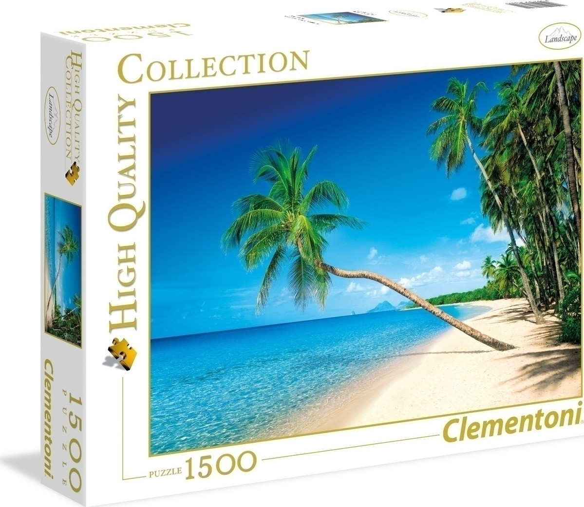 Clementoni High Quality Collection: Islands Martinique 1500pcs (31669)