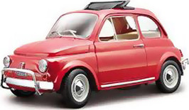 BURAGO FIAT 500 L 1/24 ΚΟΚΚΙΝΟ (22099)