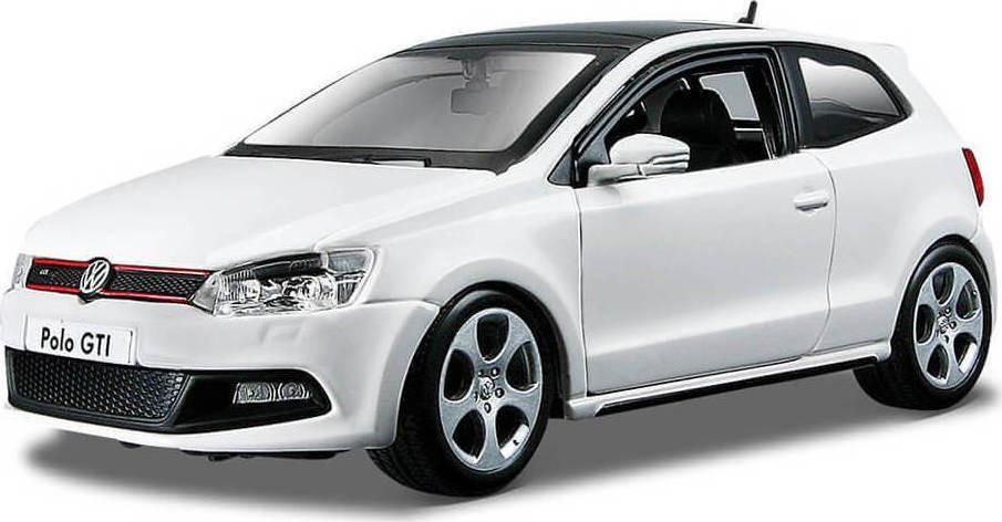 BURAGO VW POLO GTI MARK 5 PLUS 1/24 ΛΕΥΚΟ (21059)