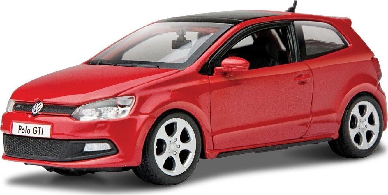 BURAGO VW POLO GTI MARK 5 PLUS 1/24 ΚΟΚΚΙΝΟ (21059)