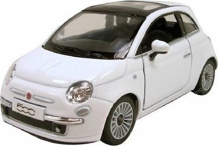 BURAGO FIAT 500 1/24 ΛΕΥΚΟ (22106)