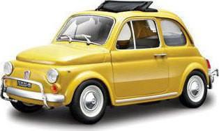 BURAGO FIAT 500 L 1/24 ΚΙΤΡΙΝΟ (22099)
