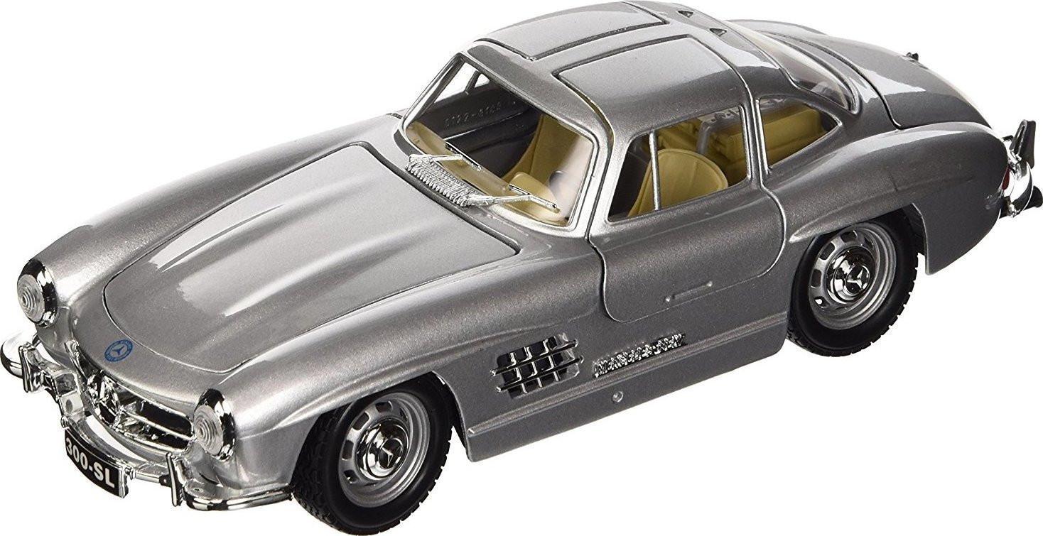 BURAGO MERCEDES-BENZ SL 300 (1954) 1/24 ΑΣΗΜΙ (22023)