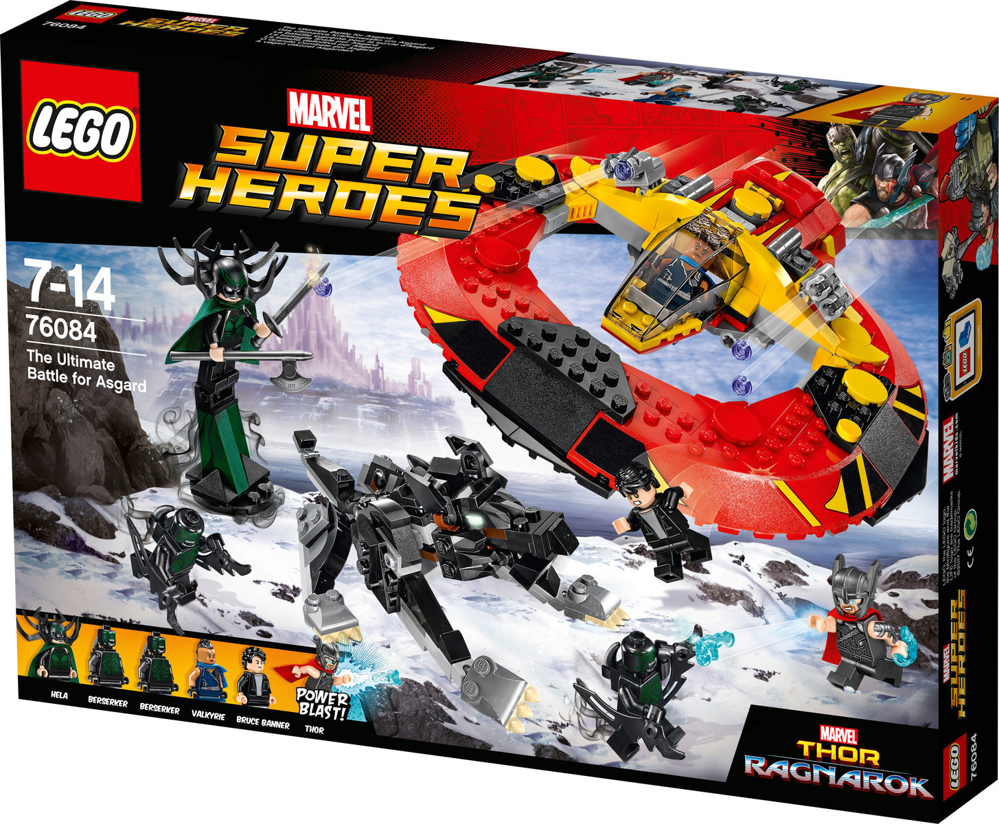 Super Heroes The Ultimate Battle For Asgard (76084)