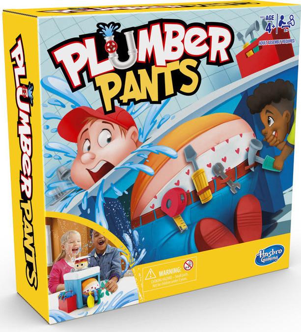 Hasbro επιτραπέζιο PLUMBER PANTS (E6563)