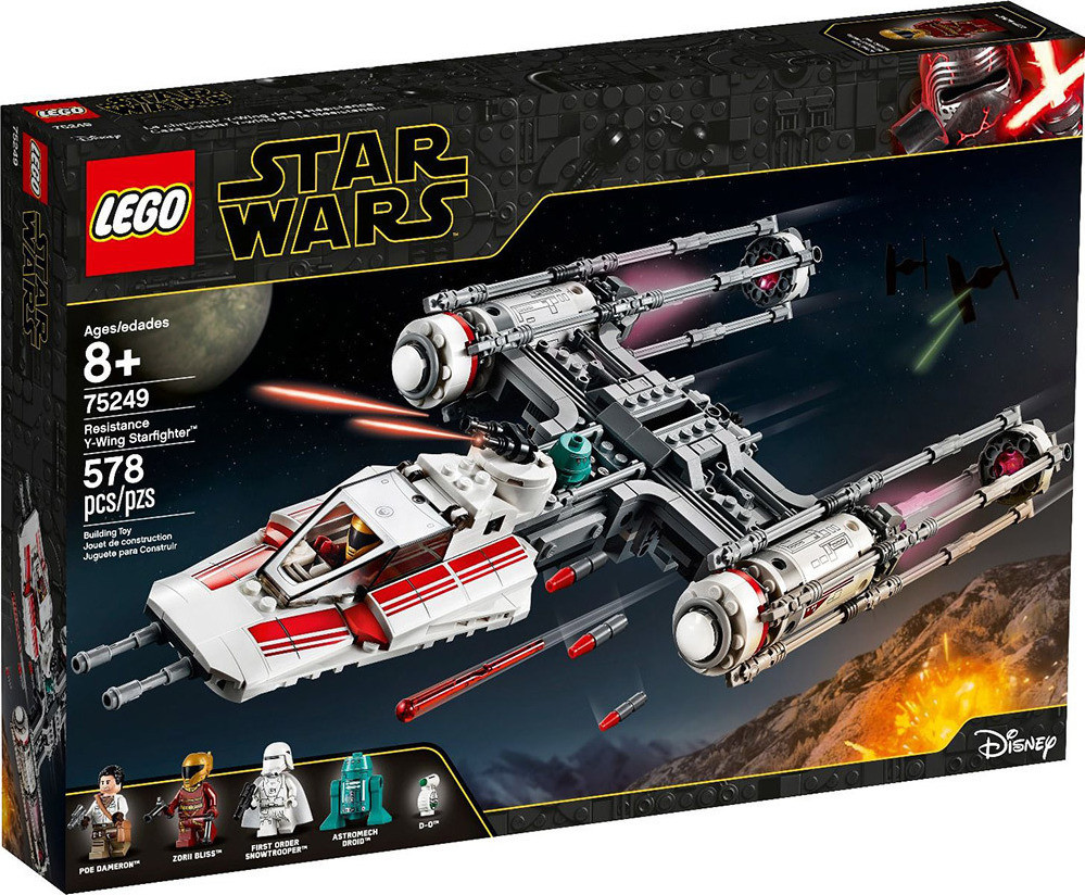 LEGO STAR WARS TM RESISTANCE Y-WING STARFIGHTER (75249)