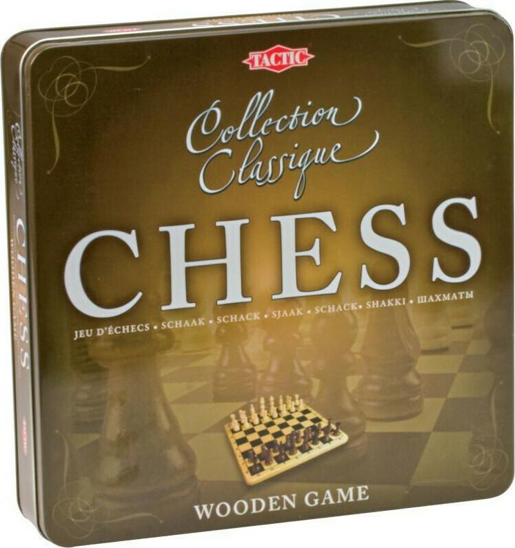 Επιτραπέζιο Ξύλινο Σκάκι (NTC09000)