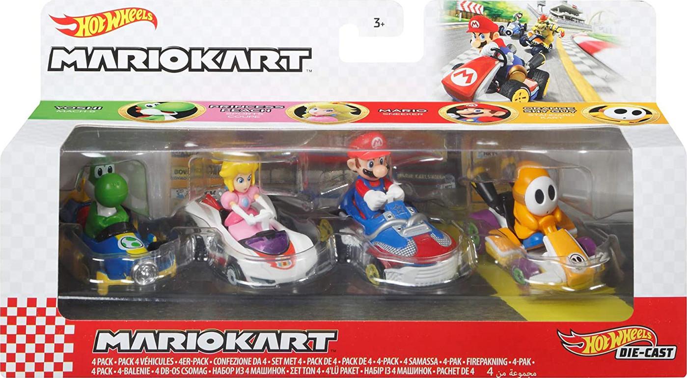 Hot Wheels Mario Kart (4 Σχέδια)