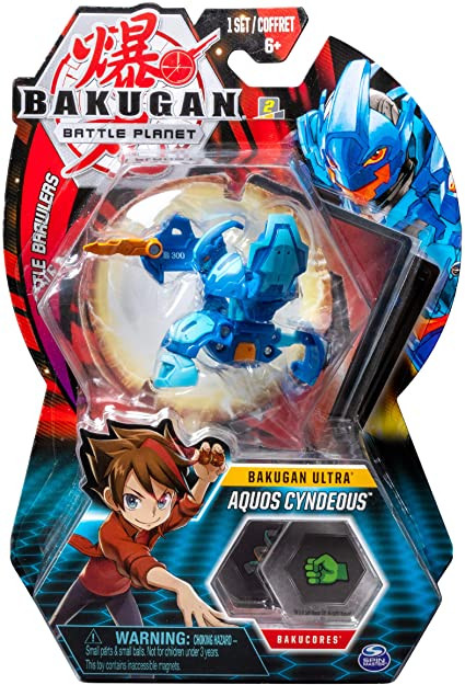 Spin Master BAKUGAN BATTLE PLANET AQUOS CYNDEOUS (063256)