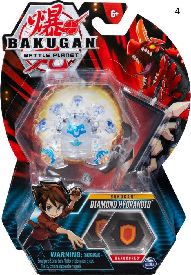 Spin Master BAKUGAN BATTLE PLANET HAOS HYDRANOID (063258)