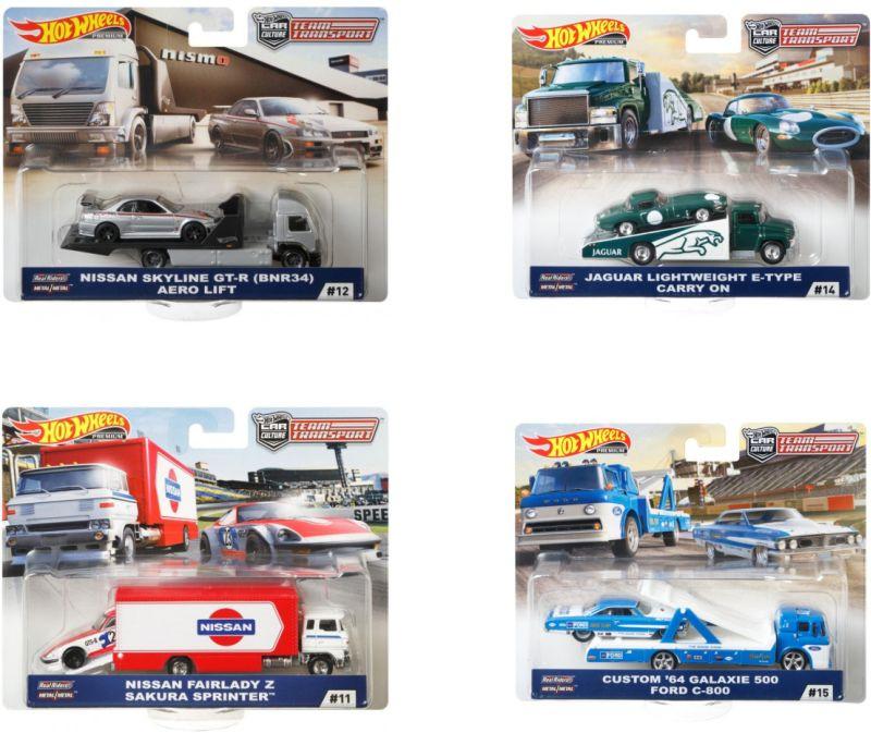 Hot Wheels Νταλίκα με Αυτοκίνητο (FLF56)
