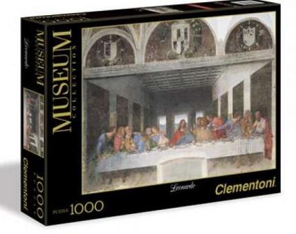 Παζλ Clementoni 1000 H.Q. Museum Leonardo-Μυστικος Δειπνος (1260-31447)