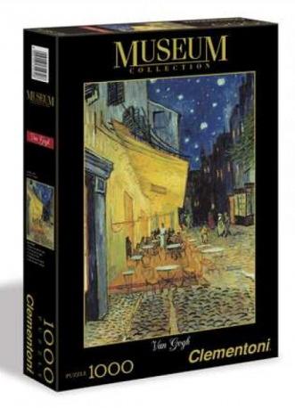 Clementoni Παζλ 1000 H.Q. Museum Van Gogh:Καφε Τη Νυχτα (1260-31470)