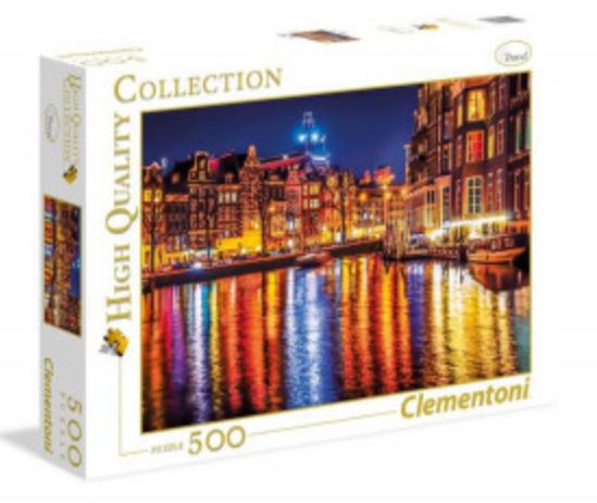 Clementoni Παζλ  Άμστερνταμ 500 pcs (1220-35037)