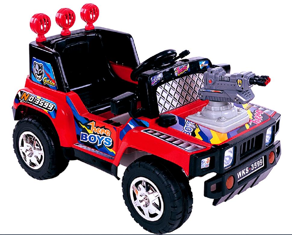 Μηχανοκίνητο Jeep 6V ΜΕ ΠΥΡΟΒΟΛΟ ΣΕ ΟΛΑ ΤΑ ΜΗΧΑΝΟΚΙΝΗΤΑ -20%-1