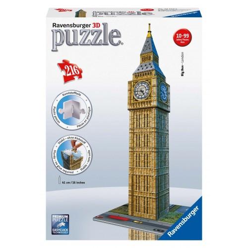 3D Puzzle Midi Κτίρια 216 τεμ. Big Ben (12554)