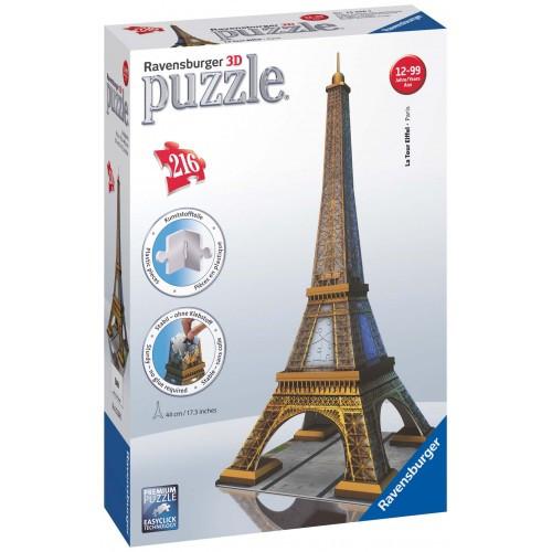 3D Puzzle Midi 216 τεμ. Ο Πύργος του Άιφελ (12556)