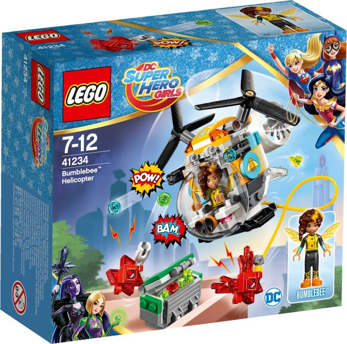 LEGO Super Heroes Girls Ελικόπτερο Μπάμπλμπι™ (41234)