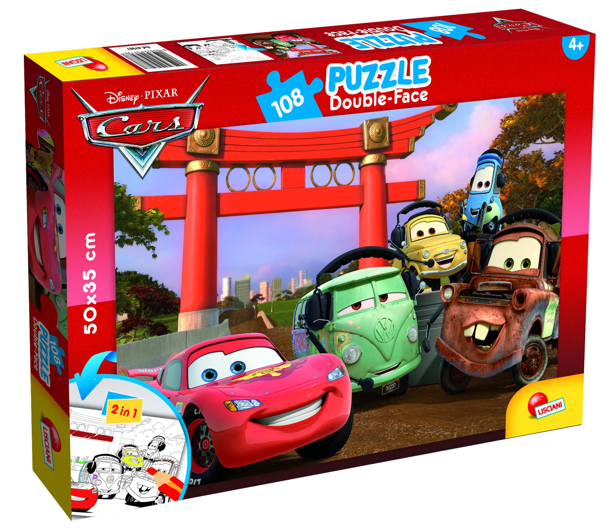 PUZZLE PLUS 108 CARS (47987)