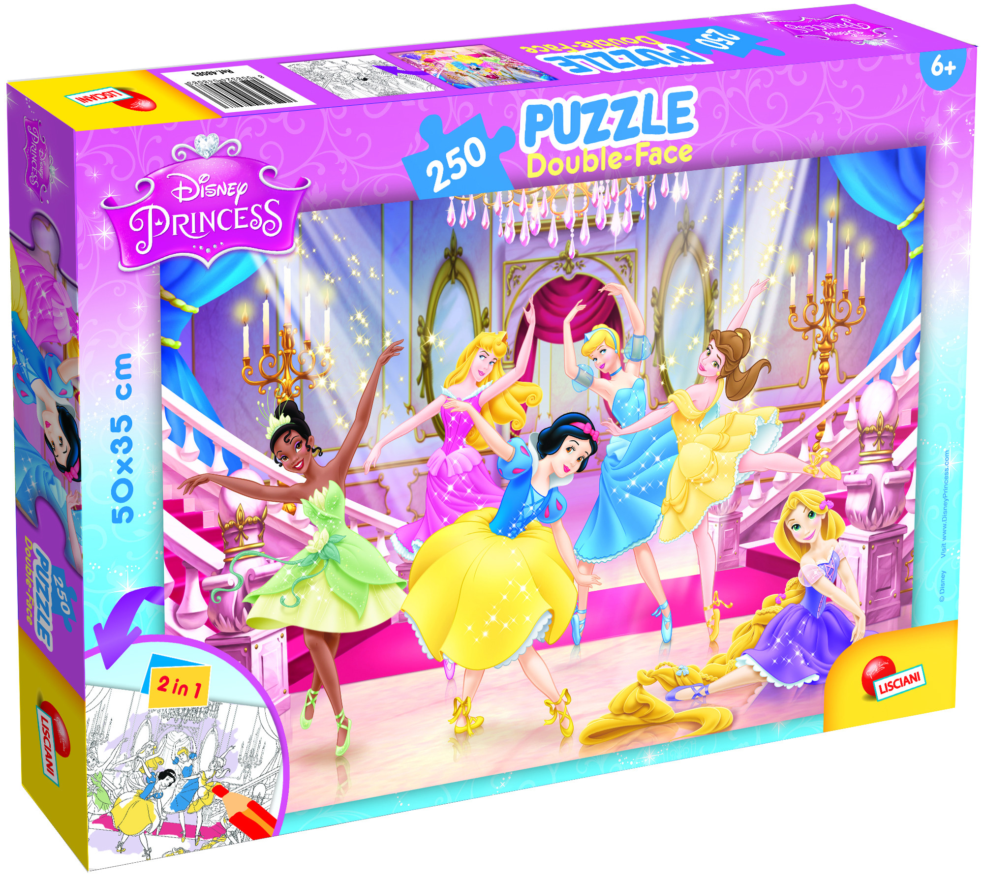 PUZZLE PLUS 250 PRINCESS (48083)