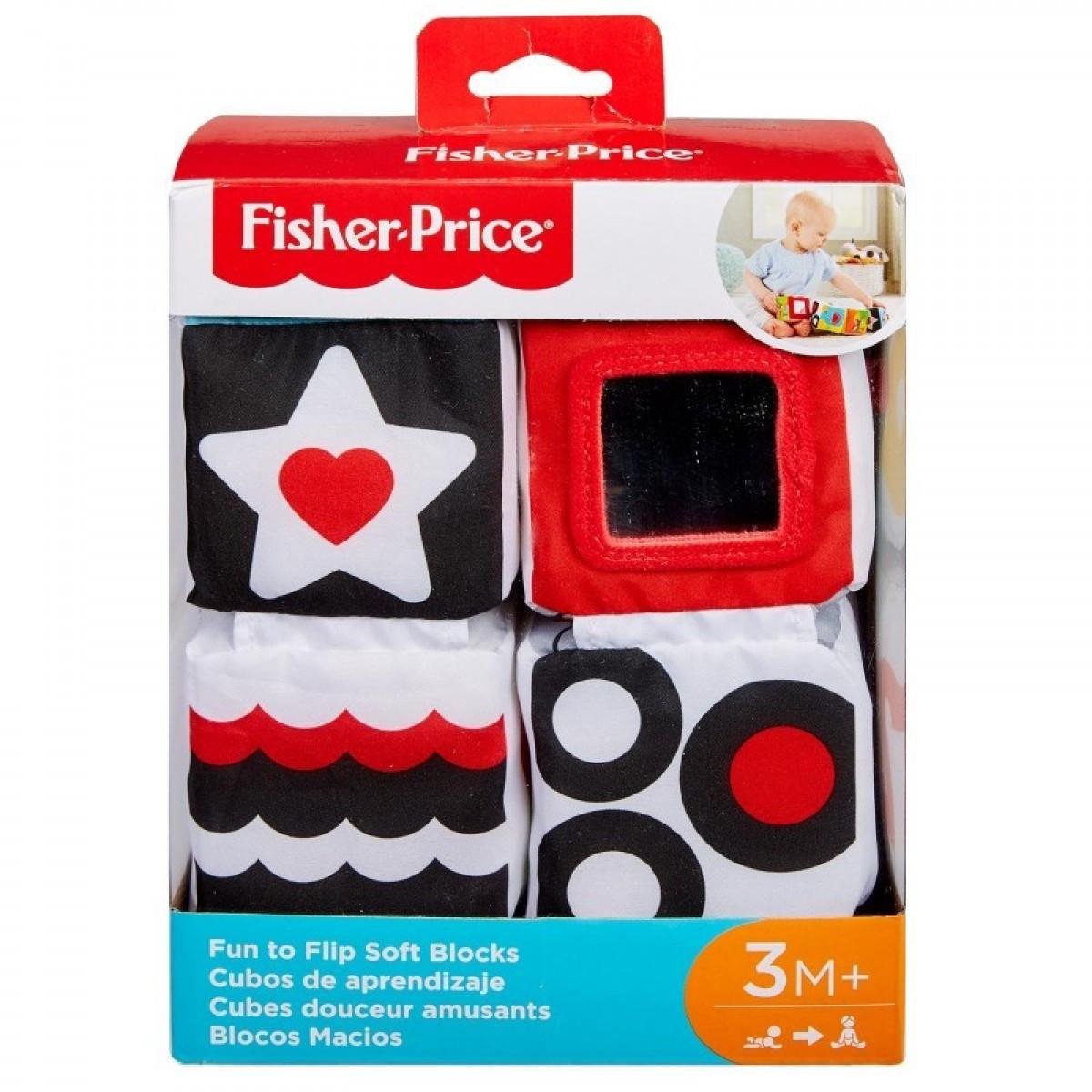 Fisher-Price Μαλακοί Κύβοι (GFC37)