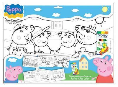 DIA ΠΟΣΤΕΡ ΜΕ 6 ΜΑΡΚΑΔΟΡΟΥΣ ΣΕΤ PEPPA PIG (000480162)