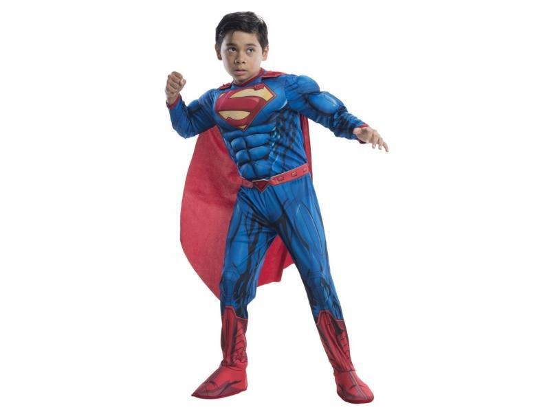 ΠΑΙΔΙΚΗ ΑΠΟΚΡΙΑΤΙΚΗ ΣΤΟΛΗ DELUXE SUPERMAN (640104)
