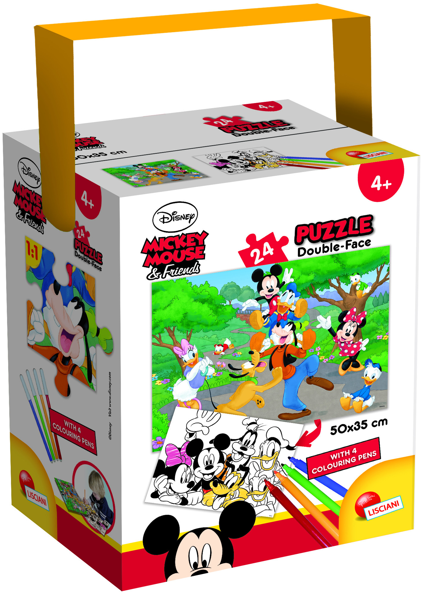 PUZZLE IN A TUB MINI 48 35X50 24 PEZZI MICKEY (65240)