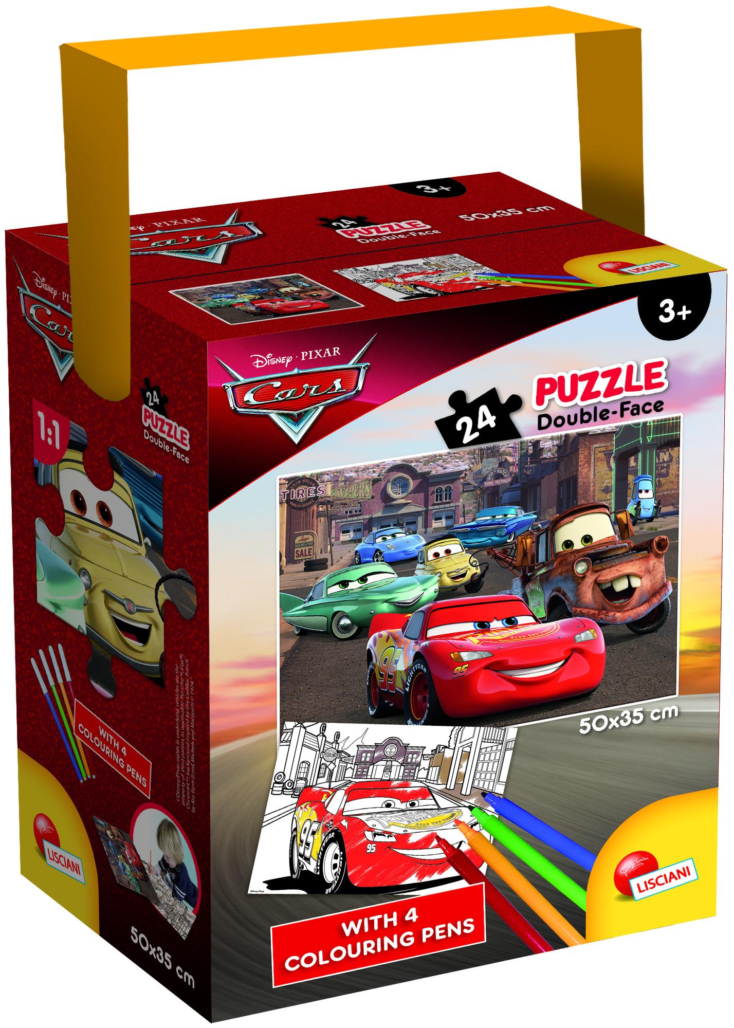 PUZZLE IN A TUB MINI 48 35X50 24 PEZZI CARS 3 (65257)