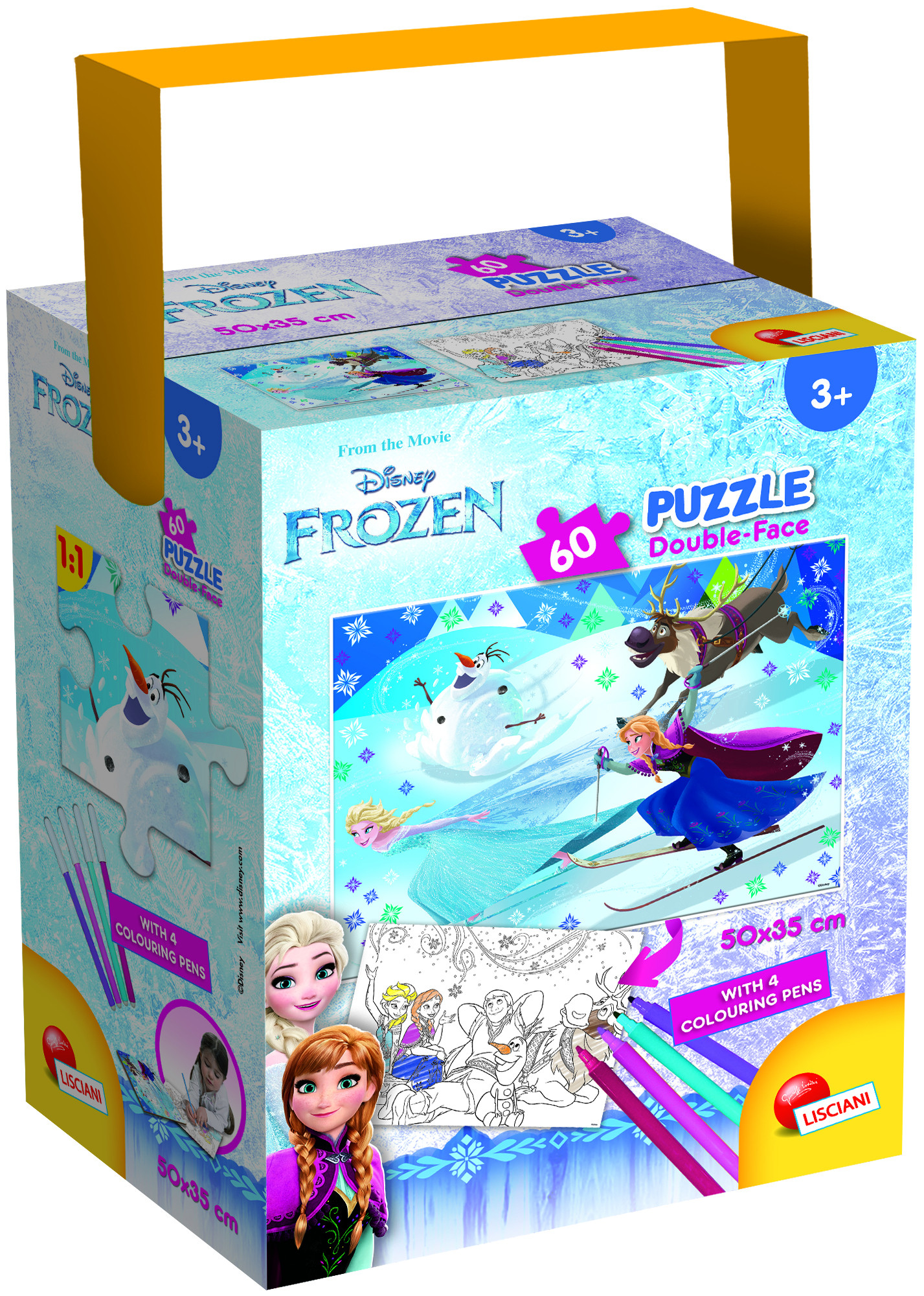 PUZZLE IN A TUB MINI 35X50 60 PEZZI FROZEN (65264)