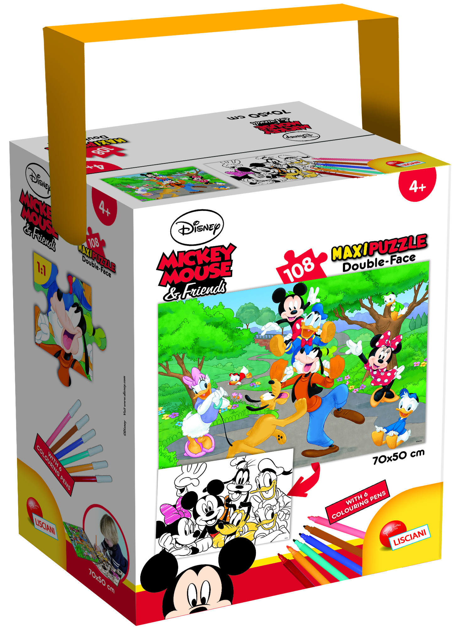 PUZZLE IN A TUB MAXI 108 MICKEY (65288)