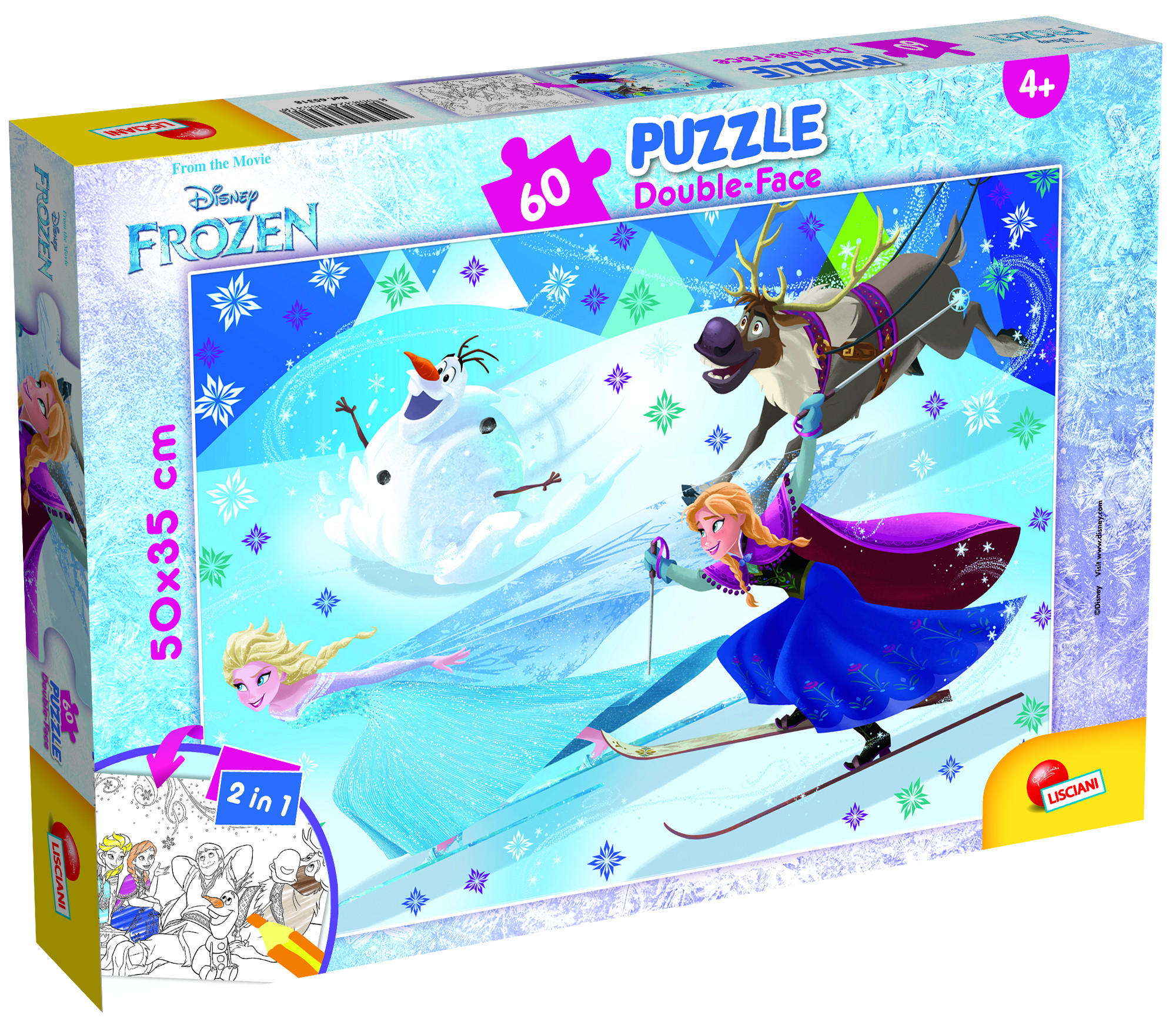 PUZZLE PLUS 60 FROZEN (65318)