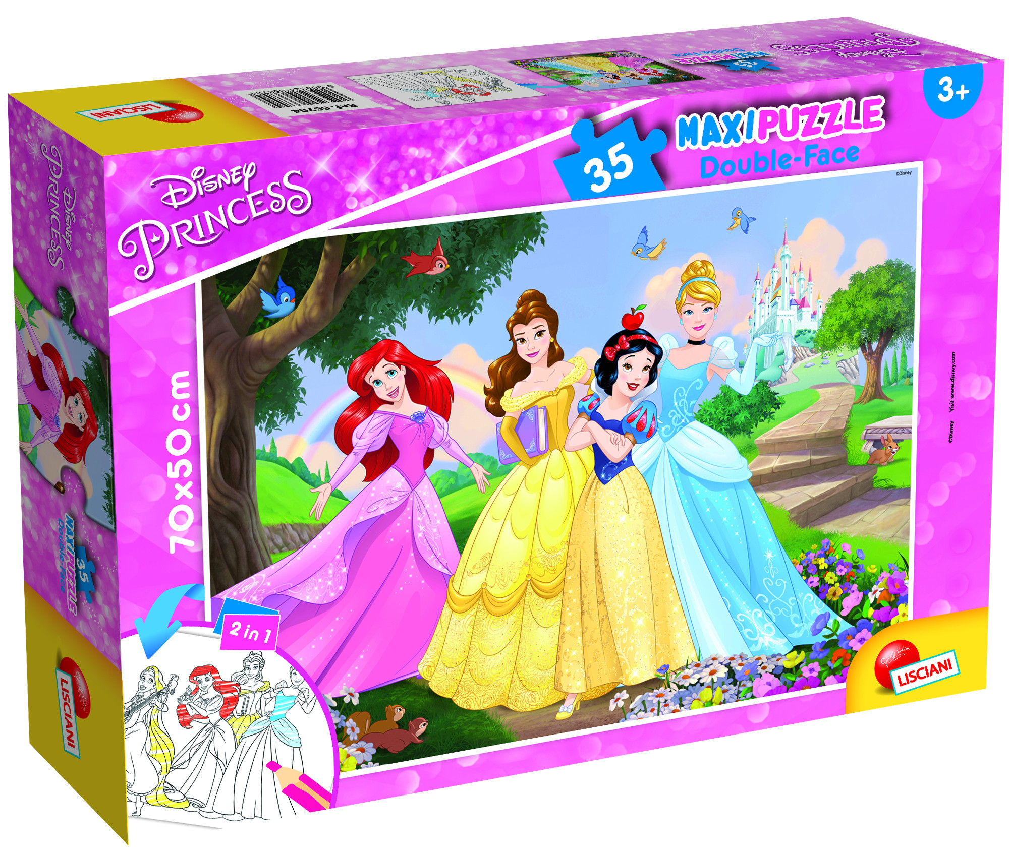 PUZZLE SUPERMAXI 35 PRONCESS (66704)