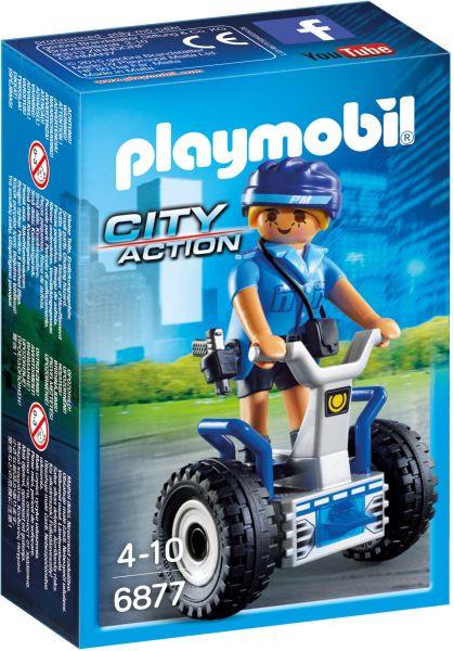 CITY ACTION Γυναίκα Αστυνομικός Με Balance Racer (6877)