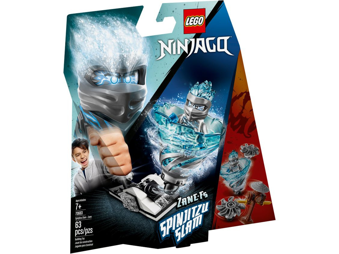 LEGO NINJAGO Spinjitzu Slam-Zane(70683)