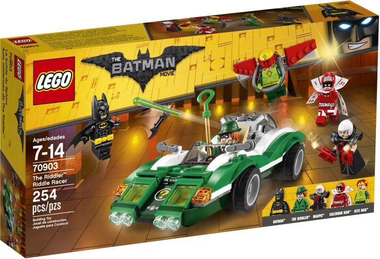 Batman Movie The Riddler Riddle Racer (70903)