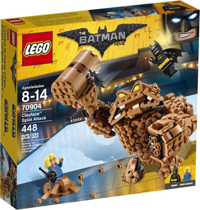 Batman Movie Clayface Splat Attack (70904)